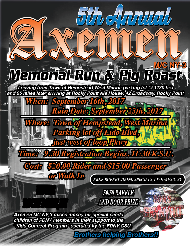 axemen 5th annual flyer