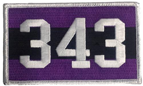 343 Memorial Patch