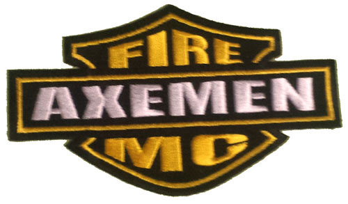 Axemen M/C Harley patch