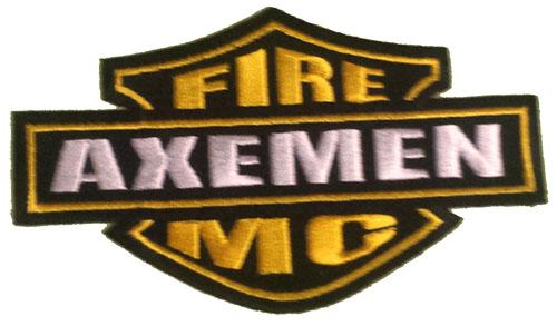 Axemen M/C Harley patch