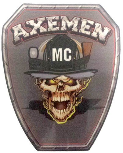 Axemen M/C Window Decal - 5
